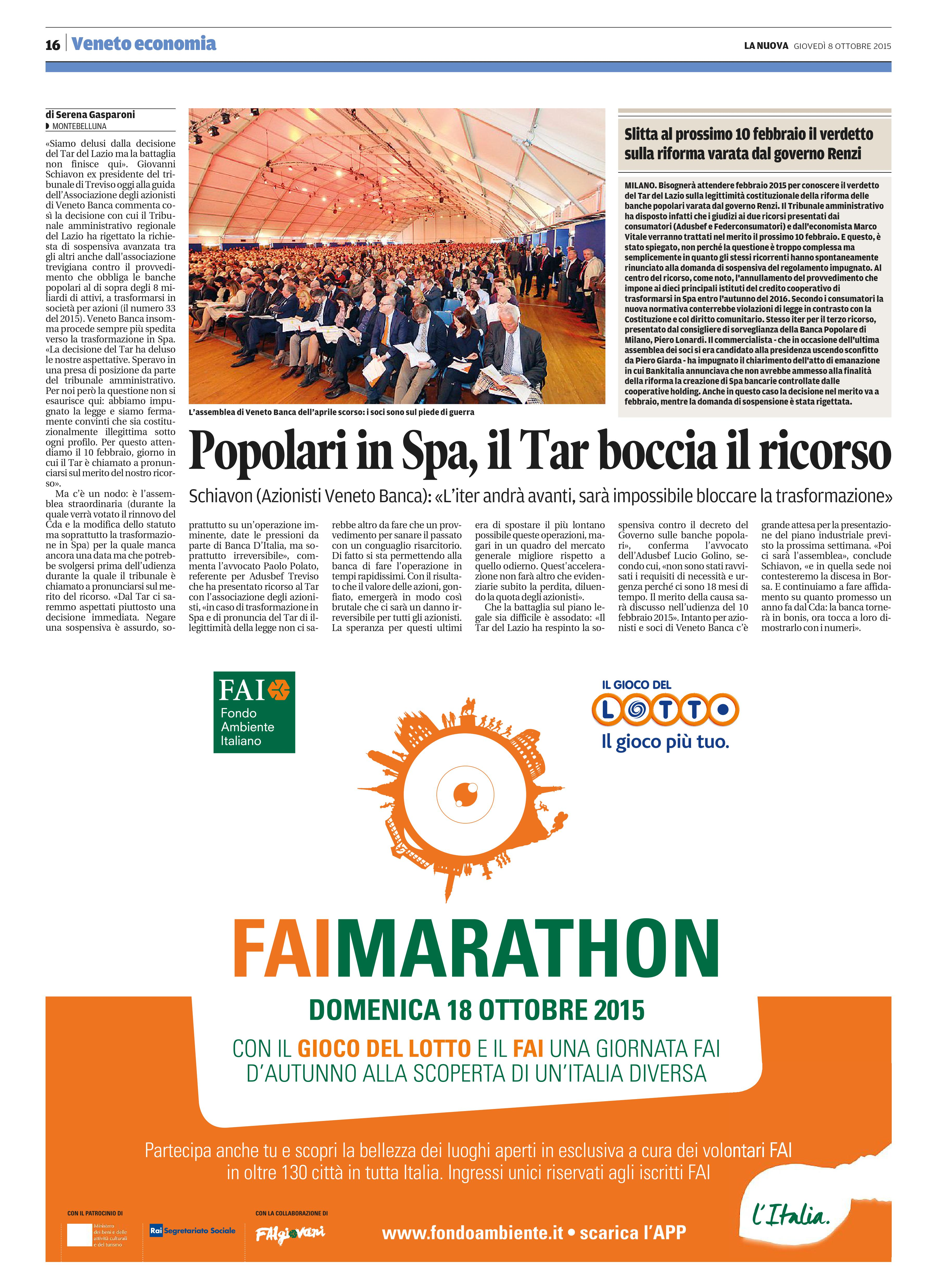 d6c7053f9f Tribuna di Treviso 08/10/2015